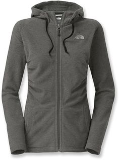 With ruched sides, The North Face Mezzaluna hoodie offers a new twist on a classic fleece jacket. It's made from super soft, lightweight micro fleece that breathes, wicks moisture and dries fast.