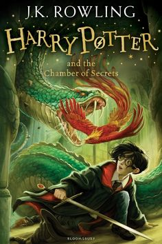 Harry Potter and the Chamber of Secrets by J. Rowling When the Chamber of Secrets is opened again at the Hogwarts School for Witchcraft and Wizardry, second-year student Harry Potter finds himself. Rowling Harry Potter, Harry Potter Book Covers, La Saga Harry Potter, Mundo Harry Potter, Hogwarts, The Secret Book, The Book, Book 1, Poster Stranger Things