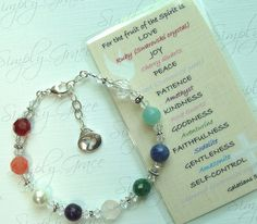 Spirit Bracelet - teens could make this with colored beads to tell the story of who they are. Like bravery beads for sibs Christian Crafts, Christian Jewelry, Christian Bracelets, Christian Clothing, Beaded Jewelry, Handmade Jewelry, Beaded Bracelet, Artisan Jewelry, Salvation Bracelet