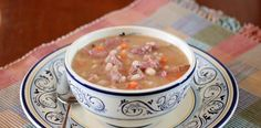 Lisa's Dinnertime Dish for Great Recipes! – Homemade Ham and Navy Bean Soup