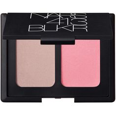 NARS 413 BLKR Blush Duo - 413 BLKR ($42) ❤ liked on Polyvore featuring beauty products, makeup, cheek makeup, blush, beauty, nars, shimmer blush and nars cosmetics