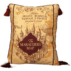 Harry Potter Pillow Marauder's Map