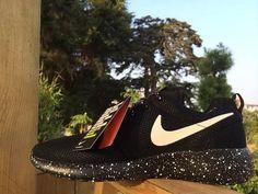 new product 8c7db c5bef custom Nike Roshe run oreo print by stylingshoes on Etsy