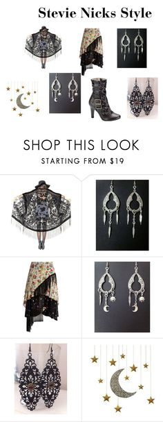 """Stevie Nicks Style"" by redgypsyjewelry on Polyvore featuring Preen and Posh Totty Designs Interiors"