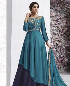 #hey @a1designerwear . Item code: AUN5394 . Buy Good Looking Blue Readymade #salwar #kameez #onlineshopping with #worldwideshipping at  https://www.a1designerwear.com/good-looking-blue-readymade-salwar-kameez-15   . #a1designerwear #a1designerwear . #instashop #worldwide #thankyou