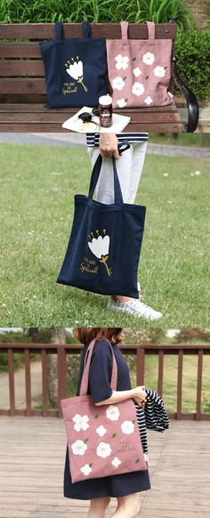 I use Bible Message Canvas Eco Bag on almost every occasion due to its versatility and the lovely design! The spacious bag carries everything I need at once, and it goes really well with my outfits!