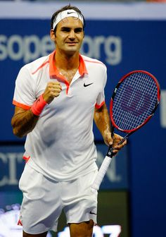 Roger Federer Photos - 2015 U.S. Open - Day 10 - Zimbio Aug 09, 2015 RF beats Gasquet in straight sets. After match interview: playing John Isner the match before helped me to see the ball earlier today and gave him time to hit the winner that he wanted to make. Exc match!!
