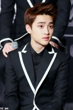 EXO D.O./KYUNGSOO That surprised face!