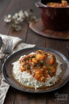 Curry de boeuf haché - Recette de curry facile