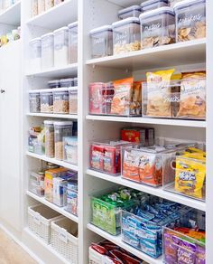 """7,890 Likes, 365 Comments - domino (@dominomag) on Instagram: """"Hate to make you jealous, but this pantry designed by @thehomeedit is the definition of #goals."""""""