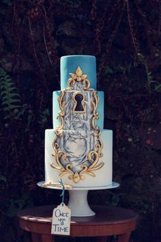"Love this ""once upon a time"" cake!"
