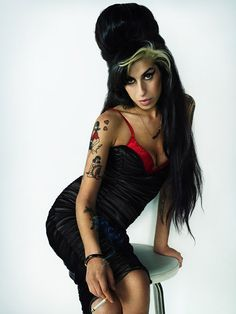 Amy Winehouse by Marc Hom