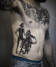 My Fleetwood Mac - Rumours piece done by Kiefer at Dark Matter Tattoo Devises.