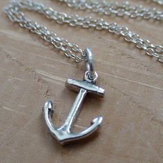 FashionJunkie4Life - Anchor -  Sterling Silver Charm Necklace, $16.00 (http://www.fashionjunkie4life.com/anchorcharmnecklace/)