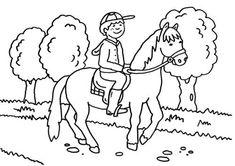 Ausmalbilder Pferde Mit Reiterin - Ausmalbilder Pferde ...