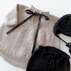 See # this # photo # of # @ stinne_northernchild # on # Knitting For Kids, Baby Knitting Patterns, Baby Patterns, Dress Patterns, Baby Outfits, Kids Outfits, Vestidos Bebe Crochet, Baby Girl Winter, Knitted Baby Clothes