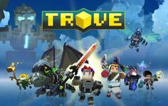 Now available on Xbox One, Playstation Mac, and PC! Trove is a free-to-play voxel-based action MMO set in a massive universe of online worlds. Adventure, explore, and create in endless realms where discovery is always around the corner! Ps4 Games, News Games, Video Games, Playstation, Gaming, Free To Play, Online Games, Play Online, Xbox One