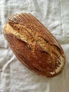 Rezept für Sauerteigbrot: Auch glutenfrei lässt sich wunderbar Brot mit nur wenigen Zutaten und Sauerteig als Triebmittel backen ➤ meergruenes.de