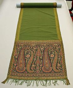 19th century French wool shawl from the Metropolitan Museum of Art.