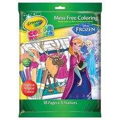 crayola color wonder glitter coloring pages and markers princess sarahs arts crafts pinterest - Color Wonder Books