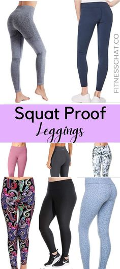 OMG I have found the best squat proof leggings! I am now happy with my workout clothes and gym leggings. I just love these high waisted non see through yoga pants.