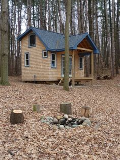 Tiny Cabin in the Woods | Tiny House Pins