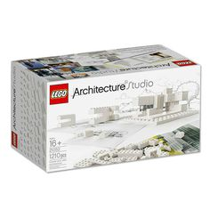 21050 LEGO® EXCLUSIVE Architecture Studio Be inspired by leading architects and create your own unique designs. Bring your architectural creations to life in LEGO® form with LEGO Architecture Studio. In this amazing set you get over 1200 LEGO bri Studios Architecture, Modern Architecture, Architecture Foundation, Sketch Architecture, Installation Architecture, Lego Kits, Sou Fujimoto, Lego Brick, Legos