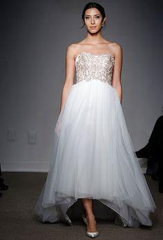 Wedding Dress Trend: High-Low Hemlines   Wedding Dresses   Brides.com   Brides.com