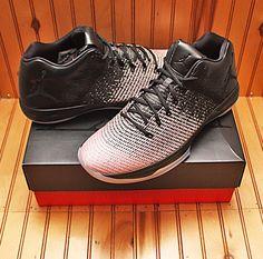 2016 Nike Air Jordan XXXI 31 Low Size 13 - Black Dark Grey Sheen - 897564 c66c782b3534f