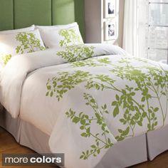 Silent Woods Cotton 3-piece Duvet Cover Set