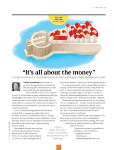 Is it really about about the money? Mark Thomas, Dubrovnik, Investing, Money, How To Plan