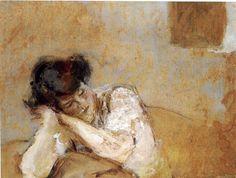 Edouard Vuillard - I adore this painting!