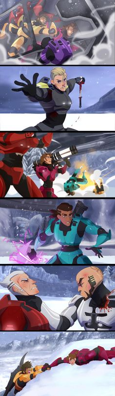 Red VS Blue - Screenshots Redraws 2 by YAMsgarden on DeviantArt