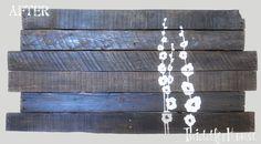 Twiddler House: I ♥ free wood! {Pallet art tutorial}