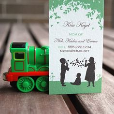Silhouette Calling Cards