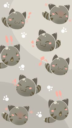 Tabby Slime Phone Background by Shyameimaru