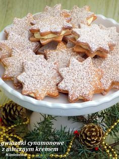Cake Recipes, Dessert Recipes, Polish Recipes, Polish Food, Christmas Cooking, Just Cooking, Holiday Baking, Cookie Decorating, Biscotti