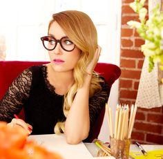 Lauren Conrad LA Office behind the scenes brightboldbeautiful.com