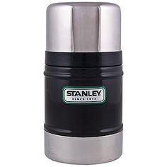 Classic Vacuum Food Jar in Black   Stanley