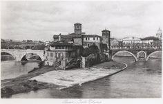 """1935 l'isola tiberina ancora non era stata """"muragliata"""" ROMA Sparita - Page 5 - SkyscraperCity"""