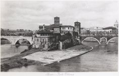 ROMA Sparita - Isola Tiberina (1935) - SkyscraperCity