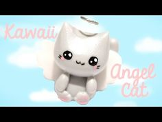 TUTO Angel anime fimo (AN ANGEL WITH POLYMER CLAY TUTORIAL) - YouTube
