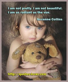 I am not pretty. I am not beautiful. I am as radiant as the sun. #Truth #picturequotes View more #quotes on http://quotes-lover.com