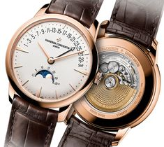 """Vacheron Constantin Constantin Patrimony Moon Phase Retrograde Date Watch """"...we are nearing the end of September, which means SIHH 2017 is just months away and the Richemont brands are beginning to tease their new offerings that they will show off next year. Taking the lead is one of Richemont's premier brands, Vacheron Constantin. And one of the new watches that the 261-year-old brand will be presenting next year is the new Vacheron Constantin Patrimony Moon Phase Retrograde Date..."""""""