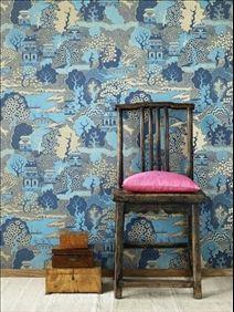 Wallpaper Summer palace, Osborne & Little
