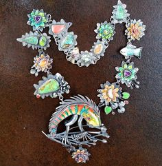 This piecr has been SOLD.  So many stones including various kinds of opals…