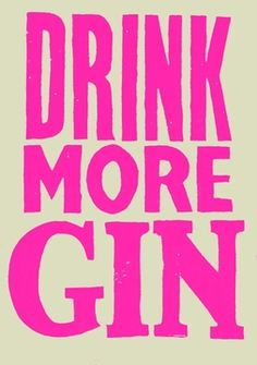 Aaaaah, gin. Preferably Hendricks, tonic, and extra lime. Crushed ice, in a nice tall glass.