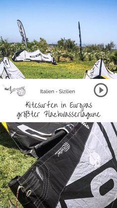 Du möchtest die größte Flachwasserlagune Europas entdecken? Dann ab nach Sizilien zum Kitesurfen. Sowohl zum Kitesurfen lernen als auch für Profis optimal.