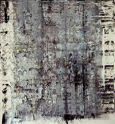 dailyartjournal: Gerhard Richter, Untitled Oil on paper - Abstract Painting Black And White Painting, Black And White Abstract, Abstract Expressionism, Abstract Art, Abstract Paintings, Art Paintings, New European Painting, Gerhard Richter Painting, Contemporary Art