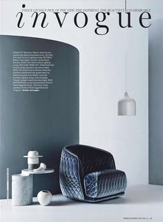VOGUE LIVING-01/11/2014-83391035 : Moroso - Redondo Small armchair